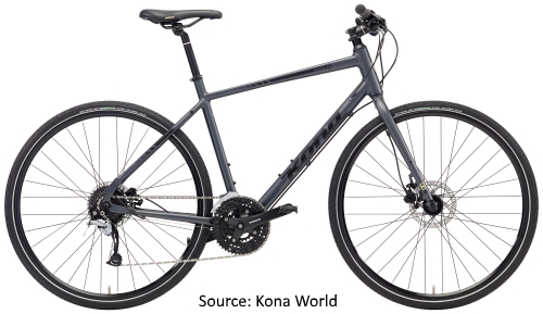 Kona Bicycles in India - Kona Dew Plus
