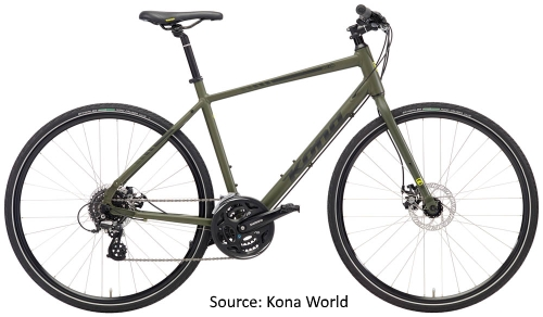 Kona Bicycles in India - Kona Dew