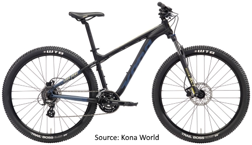 Kona Bicycles in India - Kona Lava Dome