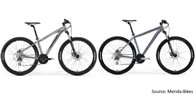 Merida 2018 Range of MTB's - Big Seven