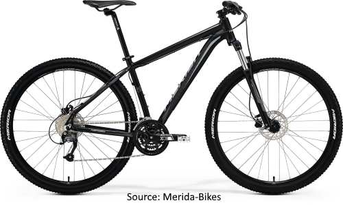 Merida 2018 Range of MTB's - Big Seven 40D
