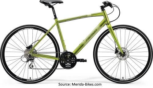 Merida 2018 Range of Hybrid Bicycles - Merida Crossway Urban 20D