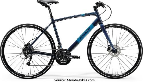 Merida 2018 Range of Hybrid Bicycles - Merida Crossway Urban 40D