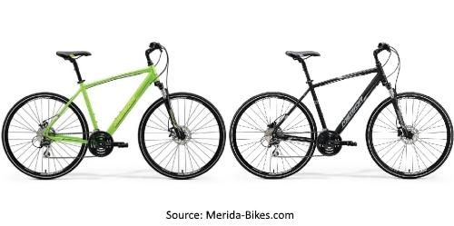 Merida 2018 Range of Hybrid Bicycles - Merida Crossway 20