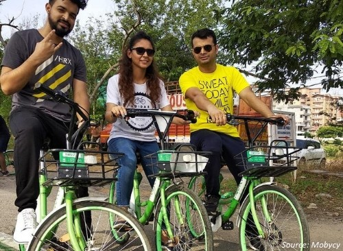 Bike Share Companies in Top Indian Metros-Delhi-NCR