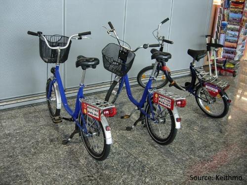 Cycling Inside Frankfurt Airport-1