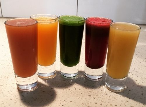 Healthy Drinks to Fuel your Ride -  Fruit Juice