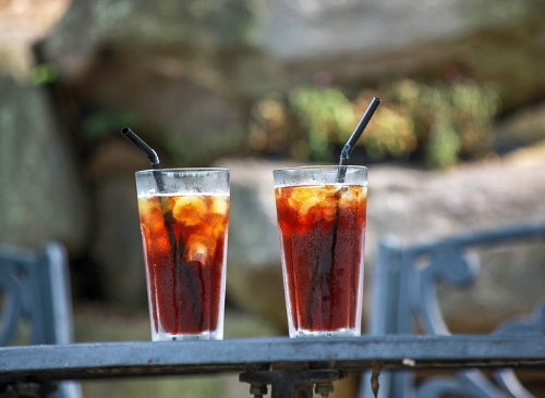 Healthy Drinks to Fuel your Ride - Iced Coffee