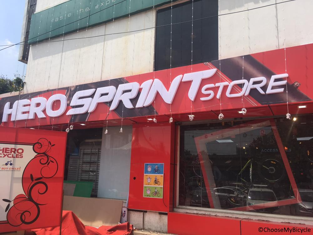 Hero Sprint Store launched in Chennai