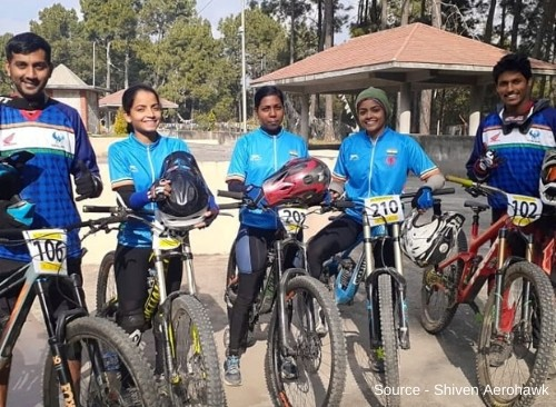 Indian Cyclists shine at South Asian Games 2019-4