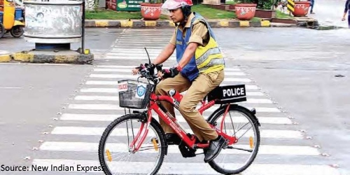 The Law takes to Two Wheels in Hyderabad-2