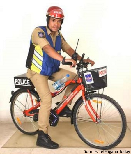 The Law takes to Two Wheels in Hyderabad-3