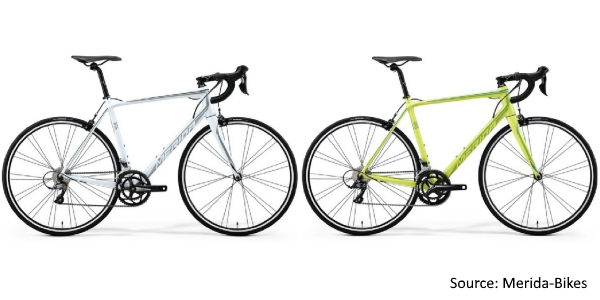 Merida 2018 Range of Road Bicycles - Merida Scultura 100 and 200