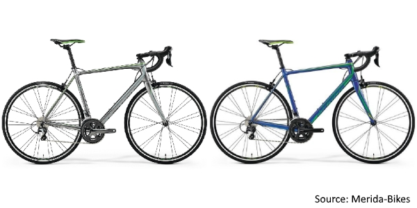 Merida 2018 Range of Road Bicycles - Merida Scultura 300 and 400