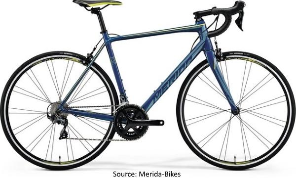 Merida 2018 Range of Road Bicycles - Merida Scultura 500