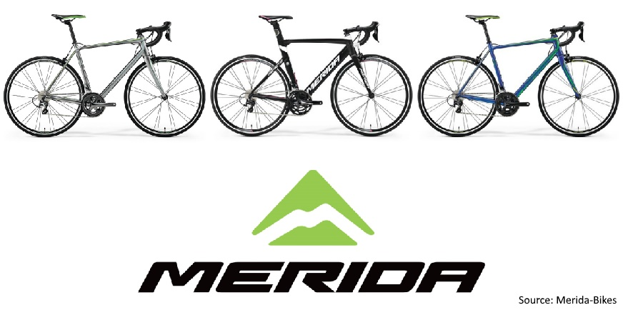 Merida 2018 Range of Road Bicycles