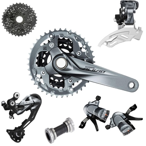 Shimano Alivio- Complete Groupset Overview-1