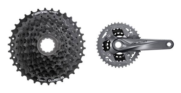 Shimano Alivio- Complete Groupset Overview-4