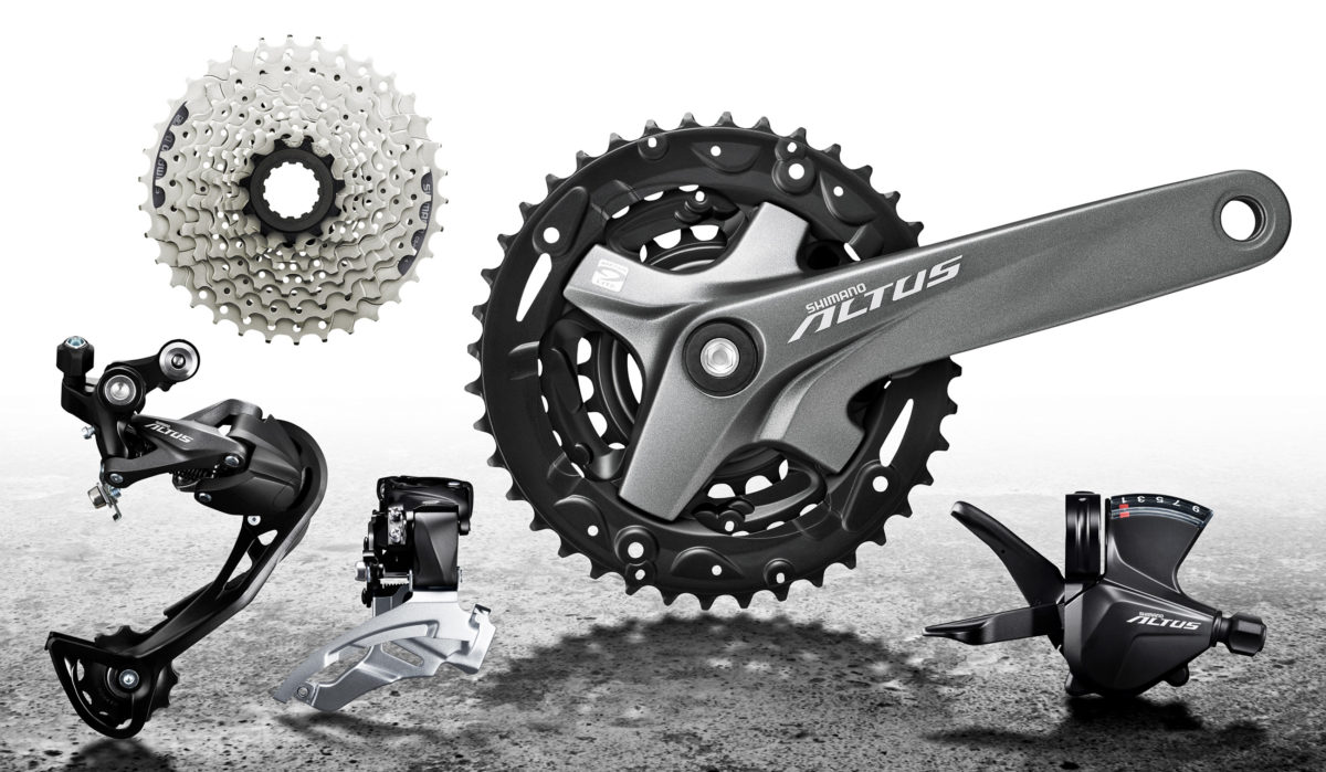 Shimano Altus- Complete Groupset Overview-1