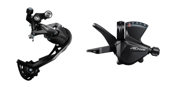 Shimano Altus- Complete Groupset Overview-3