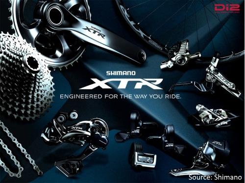 Shimano MTB/Hybrid Bicycle Gearing Groupsets - Shimano XTR