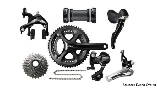 Shimano Road Bicycle Gearing Groupsets - Shimano 105