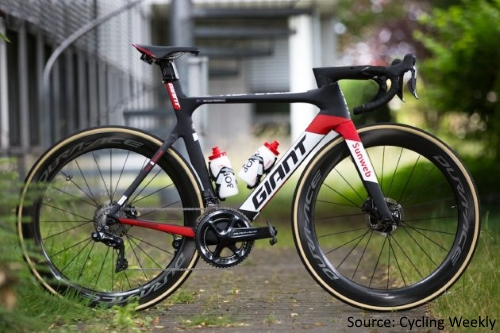New Tech at The Tour De France 2017 - Giant Propel Disc