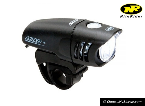 Top 5 Bicycle Lights January – March 2019 - Niterider Mako 150