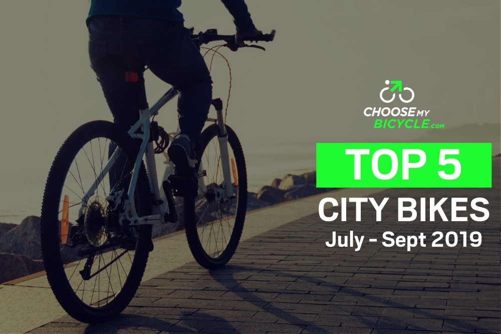 Top 5 City Bikes - July to September 2019