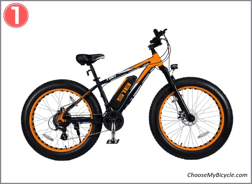 Top 5 E-Bicycles April to June 2019 - Lightspeed Fury 518