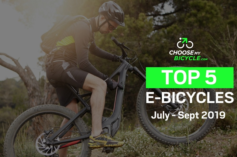 Top 5 E-Bicycles July to September 2019