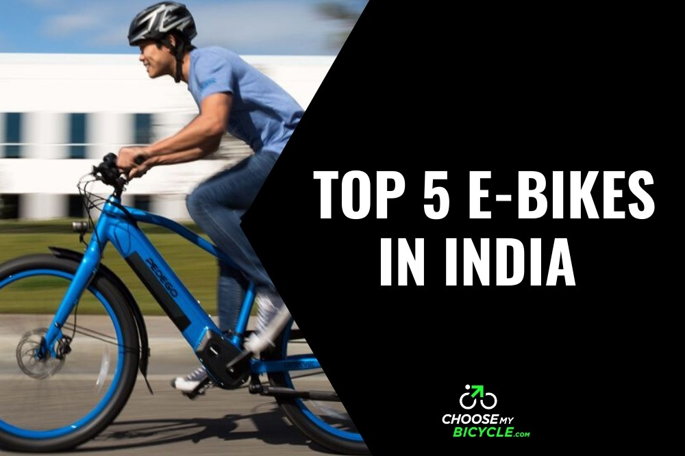 Top 5 E-Bikes Bicycles in India