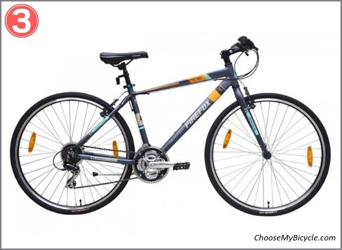 Top 5 Hybrid Bicycles April to June 2019 - Firefox Rapide 21S