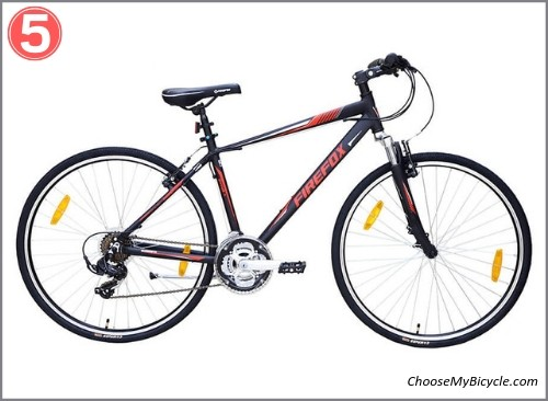Top 5 Hybrid Bicycles April to June 2019 - Firefox Road Runner Pro V