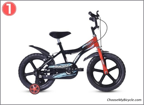 Top 5 Kids Bicycles April to June 2019 - Hero Quicker 16T