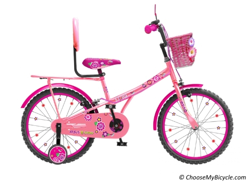 Top 5 Kids Bicycles in India - BSA Flora 16