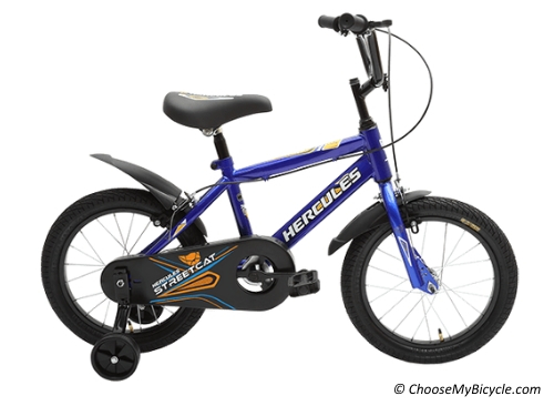 Top 5 Kids Bicycles in India - Hercules Streetcat Pro 16
