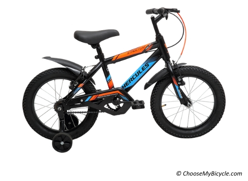 Top 5 Kids Bicycles in India - Hercules Streetcat Pro 16t