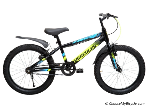 Top 5 Kids Bicycles in India - Hercules Streetcat Pro 20t