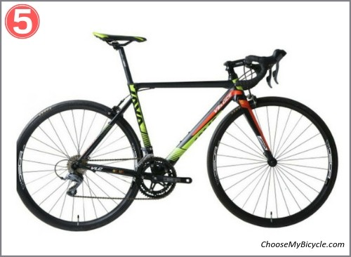 Top 5 Road Bicycles April to June 2019 - Java Veloce 2 Claris 2018