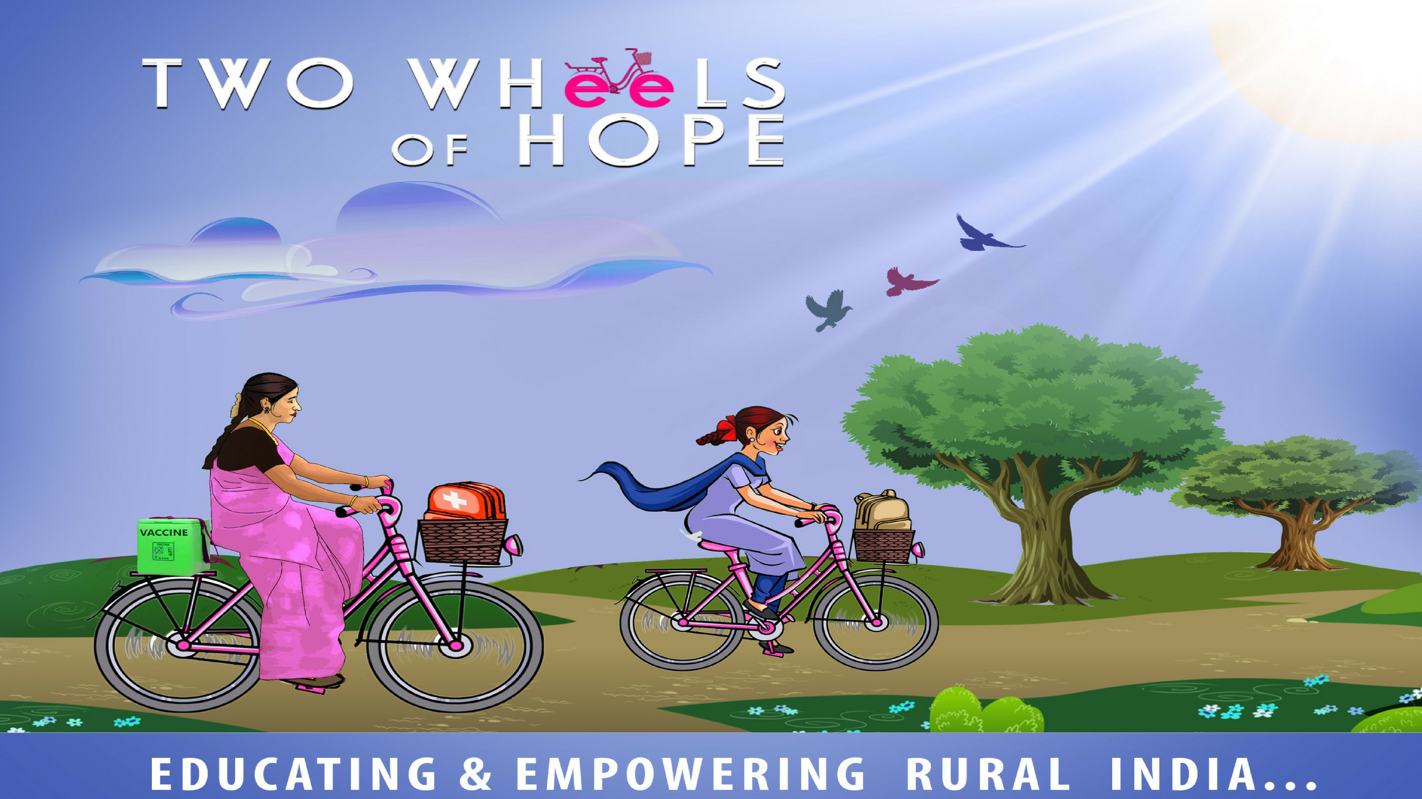 Two Wheels of Hope