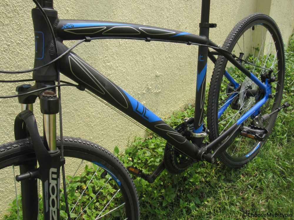 Urban Trail H2D (2015) Frame,Fit and Comfort