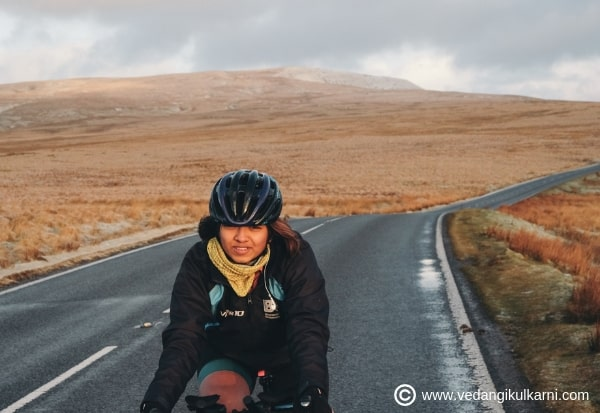 <p>Vedangi Kulkarni - The Fastest Asian to Cycle the Globe-2</p>