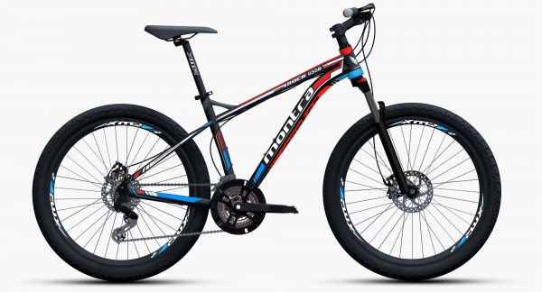 montra rock 650b hd 2015 black with red