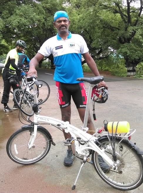 Meet Vinay Babu - Banker by Profession, Bicyclist by Passion