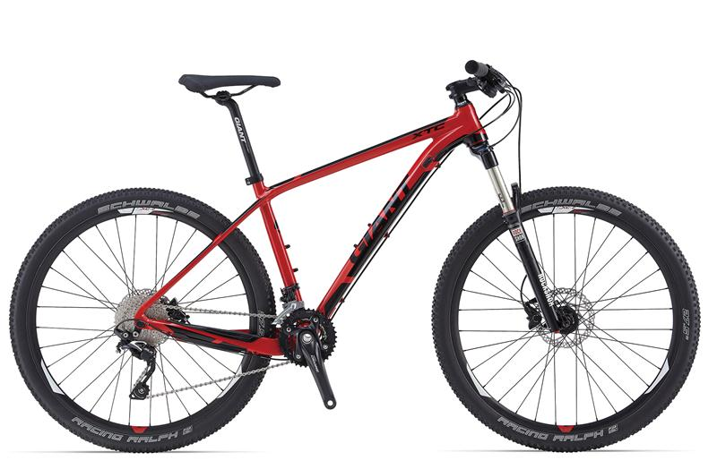 giant xtc 27 5 2 2014 black with red