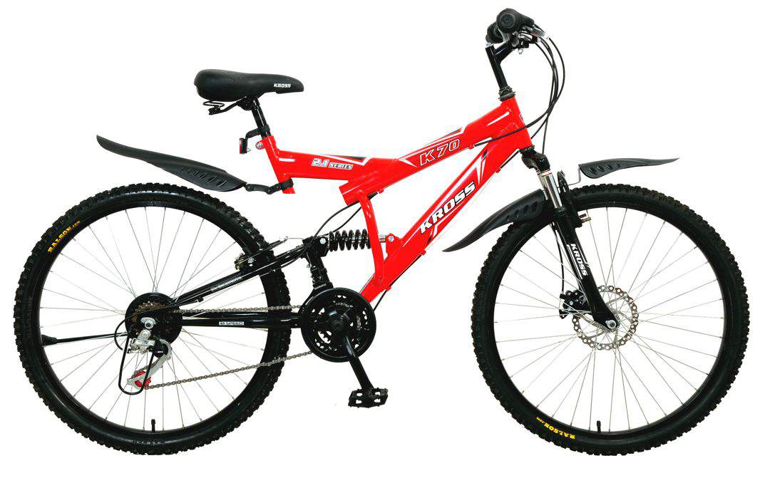 kross 26t k70 multi speed disc brakes 2015 red