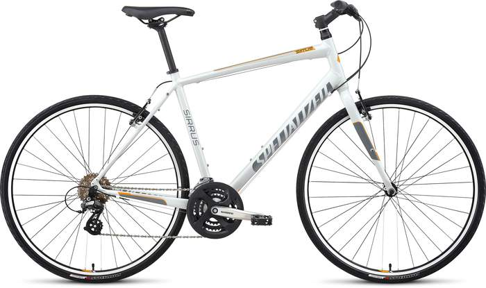 specialized sirrus 2014 white