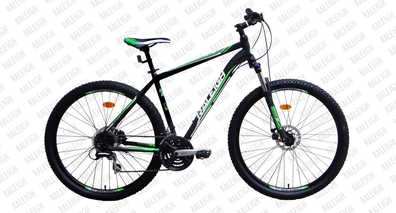 raleigh talus 2 5 29er 2015 black with green