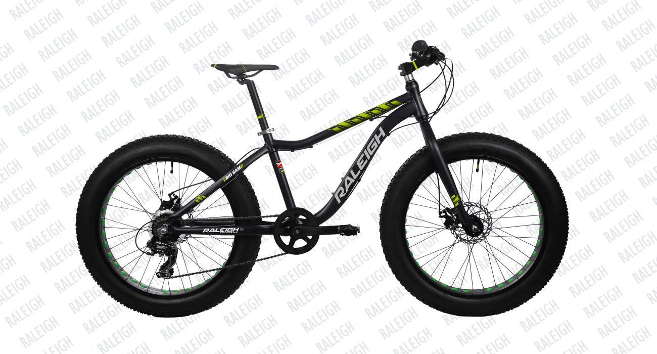 raleigh big sam 7 speed 2015 black with yellow
